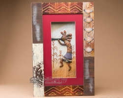 Southwest Decor Kokopelli Shadow Box 13x20  (sb15)