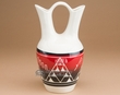 "Lakota Glazed Wedding Vase 10"" -Sioux  (nap353)"