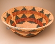 """Large Hand Woven Navajo Style Palm Basket 25""""  (obmp1)"""