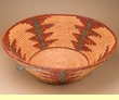 "Large Hand Woven Navajo Style Palm Basket 25""  (obmp1)"