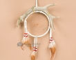 "Large Navajo Deer Antler Dream Catcher -6"" Hoop  (10)"