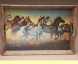 Large Western Frame Serving Tray 19x13 -Running Horses
