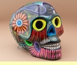 """Mexican Day Of The Dead Skull 6.5""""  (s3)"""