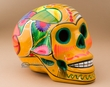 """Mexican Day Of The Dead Skull 6.5""""  (s7)"""
