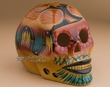 Mexican Day Of The Dead Skull -Fox  (s22)