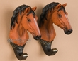 Pair of Western Horse Wall Hooks  (wd3)