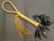 "Mohican Style Deer Toe Rattle 14"" (153)"