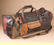 "Multi-color Cowhide Travel Bag 20""  (b453)"