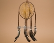 "Native American 3D Dreamcatcher 6"" -Brown  (dc6-35)"