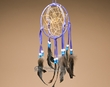 "Native American 3D Navajo Dream Catcher 5"" -Blue  (6-34)"