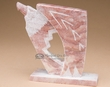 Native American Alabaster Carving -Eagle  (ra32)