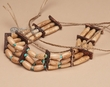 "Native American Beaded Choker 10"" -  (144)"