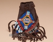 "Native American Beaded Medicine Bag 3.5"" -Navajo  (89)"
