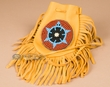 "Native American Beaded Medicine Bag 4.5"" -Laguna  (b90)"