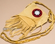 "Native American Beaded Medicine Bag 5.5"" -Pueblo  (94)"