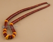 """Native American Beaded Necklace 19.5""""  (142)"""