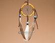 "Native American Bone Dreamcatcher 2.5""  (dc25-7)"