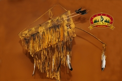 """Native American Bow Case & Quiver 47"""" -Old Style (B46)"""