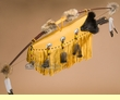 "Native American Deer Skin Bow & Quiver 47"" -Creek   (B36)"