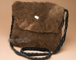 "Native American Buffalo Hide Medicine Bag 11x10"" -Sioux  (b112)"
