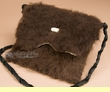 "Native American Buffalo Hide Medicine Bag 10x8"" -Sioux  (b112)"