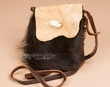 "Native American Buffalo Hide Medicine Bag 4.5x6"" -Sioux  (b115)"
