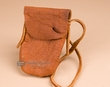 "Native American Buffalo Hide Medicine Bag 4x5"" -Sioux  (b109)"