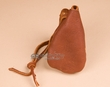 "Native American Buffalo Hide Medicine Pouch 5.5"" -Sioux  (b107)"