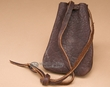 "Native American Buffalo Hide Medicine Pouch 5.5"" -Sioux  (b106)"