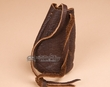 "Native American Buffalo Hide Medicine Pouch 5.5"" -Sioux  (b108)"