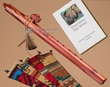 Native American Cedar Flute Package -Buffalo F#