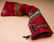 "Native Style Southwest Flute Bag 24"" -Santa Clara Pattern  (fb3)"
