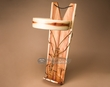 "Native American Cedar Cradle Board 29"" -Navajo  (cb11)"