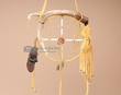 "Native American Deer Antler Dream Catcher 8""  (6-4)"