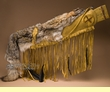 "Native American Deer Skin Coyote Rifle Case 42""  (rc1)"