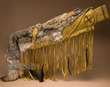 "Native American Deer Skin Coyote Rifle Case 40""  (rc1)"
