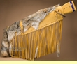 "Native American Coyote Pelt Rifle Scabbard 42"" (rc2)"