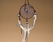 "Native American Dream Catcher 4"" -Blue  (6-50)"