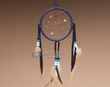 "Native American Dream Catcher 4"" -Purple"