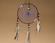 "Native American Dream Catcher 6"" -Blue  (6-42)"