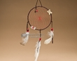 "Native American Dream Catcher 6"" -Red  (6-45)"