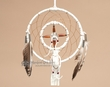 "Native American Dream Catcher 6""  -White  (6-6)"