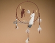 "Native American Dreamcatcher 12"" -Brown  (12-11)"