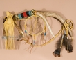 "Native American Elk Antler Dream Catcher 21""  (dd1)"