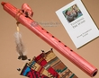 Native American Flute & Bag -Cherry Bear