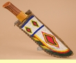 Native American Vintage Sioux Beaded Sheath & Knife (k25)