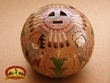 "Native American Hand Tooled Navajo Pottery Vase 5"" (T34)"