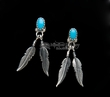 Native American Indian Jewelry Earrings- Feathers (30)