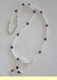 """Native American Indian Jewelry -Tigua Necklace 25"""" (109)"""