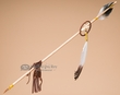 "Native American Indian Medicine Arrow 29"" -Tigua  (a4)"
